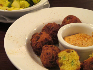 """Bacon Cheddar Hush Puppies"""
